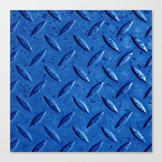 blue steel II Canvas Print