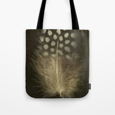 Guinea Fowl Feather Tote Bag