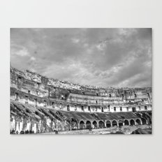 Inside of the Colosseum Canvas Print