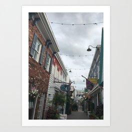 Hidden Alleyway Art Print