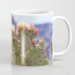 Prickly Pear Cactus Blooms, II Coffee Mug
