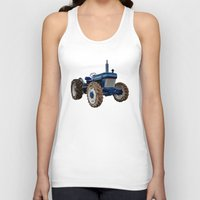 ford Tank Tops featuring Ford 2810  by Rob Hawkins Photography