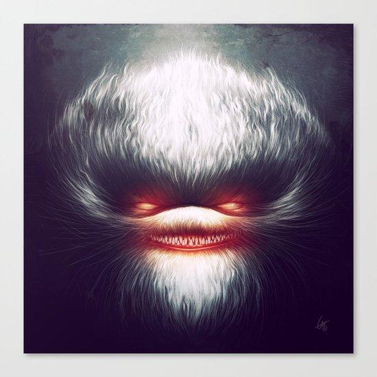 Furry Smile Canvas Print