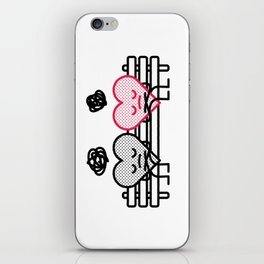 It's not always sunshine and flowers… iPhone Skin