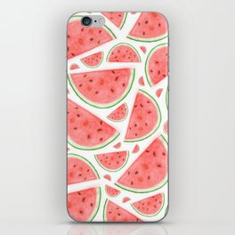 Watercolour Watermelon iPhone Skin