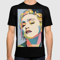 Madonna Black MEDIUM Mens Fitted Tee