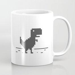 Google Chrome's Dino Coffee Mug