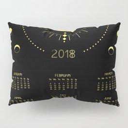 2018 Cosmic Calendar Pillow Sham