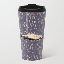 Salmon Spectacular Metal Travel Mug