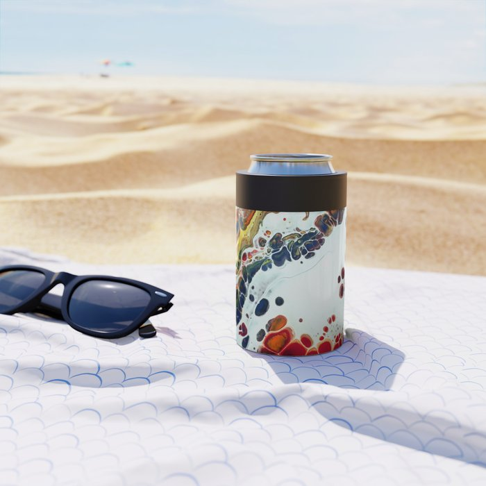 Primary Agate Slab Can Cooler