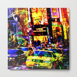 Hey taxis Metal Print