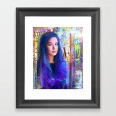 Blue of you  Framed Art Print