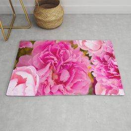 Large Pink Peony Flowers #decor #society6 #buyart Rug