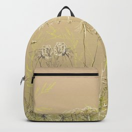 Wild flowers and weeds 2 Backpack