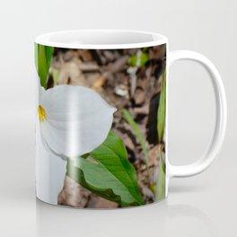 White Trillium by Teresa Thompson Coffee Mug