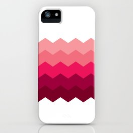 Chevron Pink iPhone Case