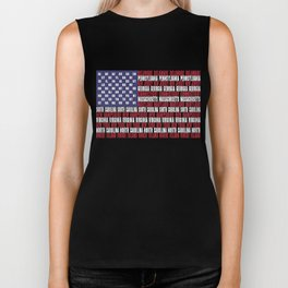 Stars and Stripes  Biker Tank