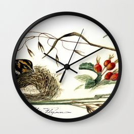 Sparrow Wall Clock