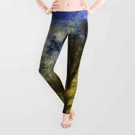 Greenwich Park London Van Gogh Leggings