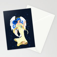 Blue Hair Angel Stationery Cards