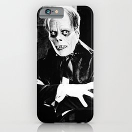 Lon Chaney || classic horror movie iPhone Case
