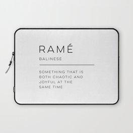 Ramé Definition Laptop Sleeve