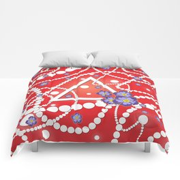 Petals and Pearls Comforters