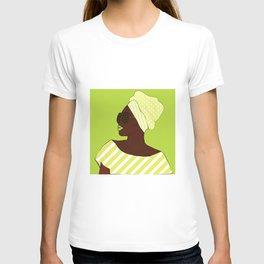 A black woman in sunglasses14 T-shirt
