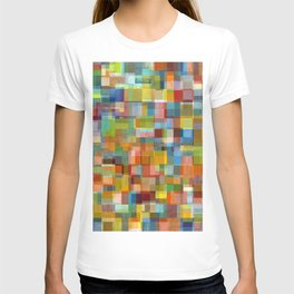 Colorful Collage with Layers T-shirt