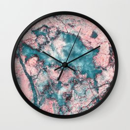 Crystal Marble Wall Clock
