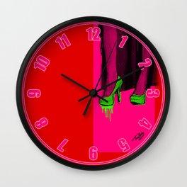 Seduction Wall Clock