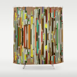 Abstract Composition 635 Shower Curtain
