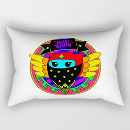 Trilly Crooked Smile Rectangular Pillow