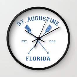 St.Augustine Florida Vacation Wall Clock