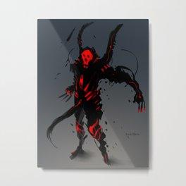 Red Clan Grave Metal Print
