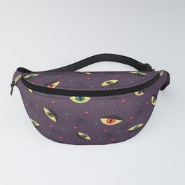 Reptile witch eyes pattern Fanny Pack