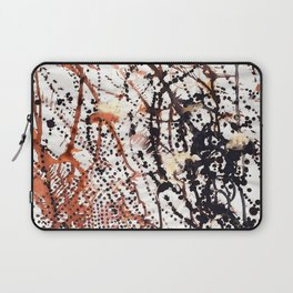 Printed splatter  Laptop Sleeve