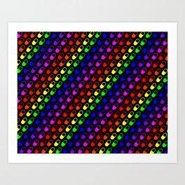 Rainbow Pills Art Print