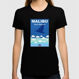 Malibu - California.  T-shirt