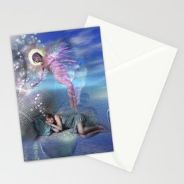 A novel can be a portal into parallel realities Stationery Cards