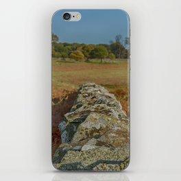 Dry stone wall iPhone Skin