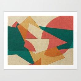 Pistacchio con Fragole Art Print