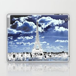 Tower Tourists in Reverse Laptop & iPad Skin