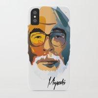 hayao miyazaki iPhone & iPod Cases featuring Miyazaki by zero Bounty
