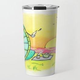 Green Tea by the Sea Travel Mug