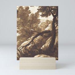 Bartolomeo Torregiani - Wooded Landscape (1646) Mini Art Print