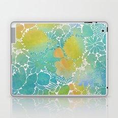 Flowers On The Wall Laptop & iPad Skin