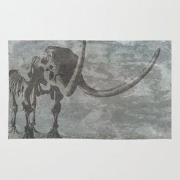 Half Tone Mammoth Rug