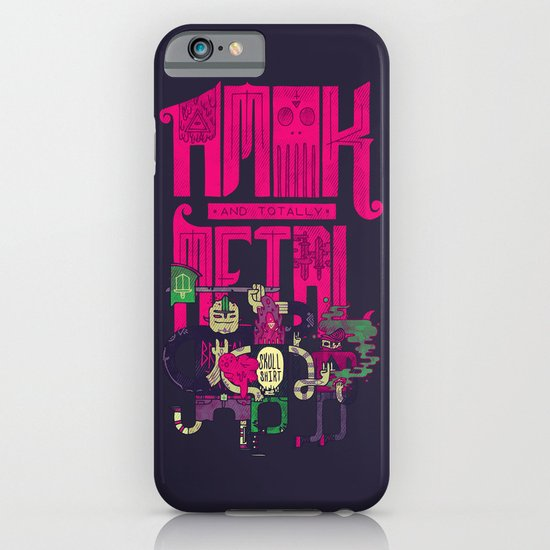 Amok and Totally Metal iPhone & iPod Case