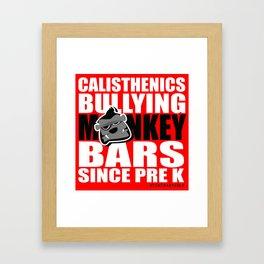 Bully Bars Framed Art Print